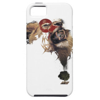 Wellcoda Lion King of Africa Wild Animal Case For The iPhone 5