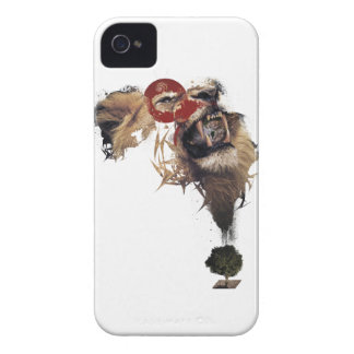 Wellcoda Lion King of Africa Wild Animal Case-Mate iPhone 4 Case
