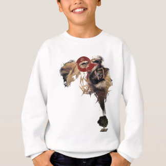 Wellcoda Lion King of Africa Wild Animal Sweatshirt