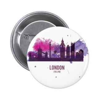 Wellcoda London Capital City UK England 6 Cm Round Badge