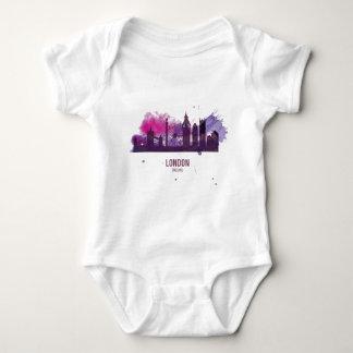 Wellcoda London Capital City UK England Baby Bodysuit