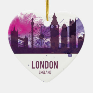 Wellcoda London Capital City UK England Christmas Ornament