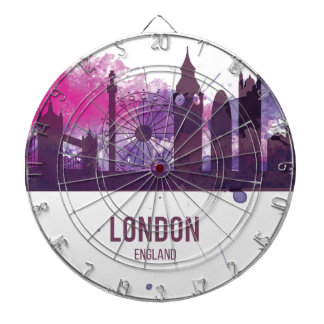 Wellcoda London Capital City UK England Dartboard