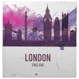 Wellcoda London Capital City UK England Napkin