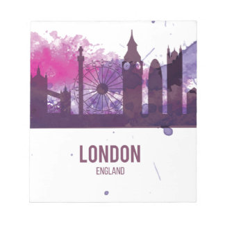 Wellcoda London England Tour Britain Notepad