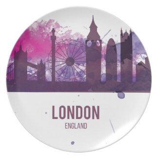 Wellcoda London England Tour Britain Plate
