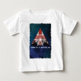 Wellcoda London Eye England UK Illuminati Baby T-Shirt
