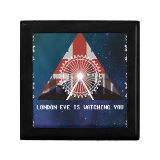Wellcoda London Eye England UK Illuminati Gift Box