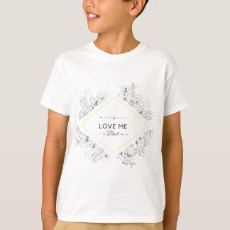 Wellcoda Love Me Back Diamond Romantic T-Shirt