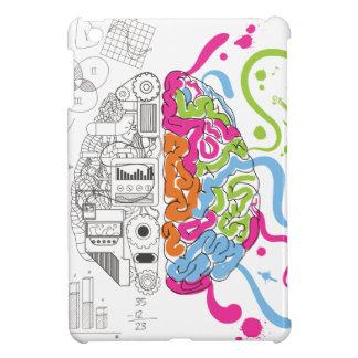 Wellcoda Mad Side Of Brain Fun Study Life iPad Mini Covers