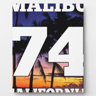 Wellcoda Malibu California USA Beach Life Plaque