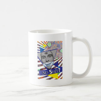 Wellcoda Man Fake Smile Eye New Wave Face Coffee Mug
