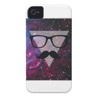 Wellcoda Master Disguise Space Funny Face iPhone 4 Cover