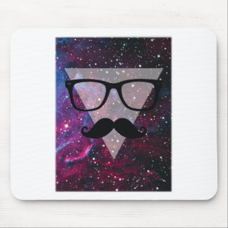 Wellcoda Master Disguise Space Funny Face Mouse Mat