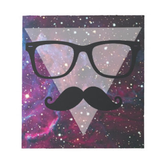 Wellcoda Master Disguise Space Funny Face Notepad