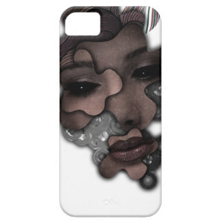 Wellcoda Mechanical Lady Face Crazy Metal Case For The iPhone 5
