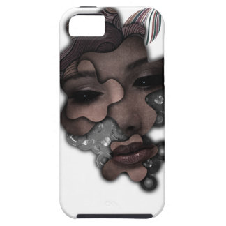 Wellcoda Mechanical Lady Face Crazy Metal iPhone 5 Covers