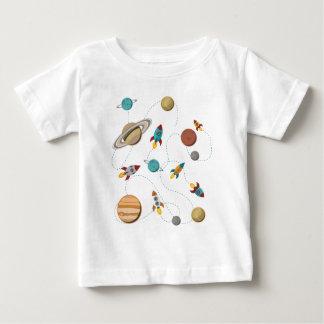 Wellcoda Meet You In Galaxy Mad Planet Baby T-Shirt