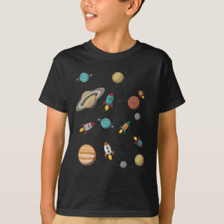 Wellcoda Meet You In Galaxy Mad Planet T-Shirt