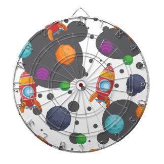 Wellcoda Meet You In Space Fun Mad Planet Dartboard
