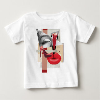 Wellcoda Merilyn Beauty Art Monroe Lip Baby T-Shirt