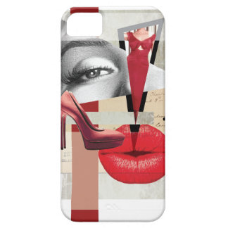Wellcoda Merilyn Beauty Art Monroe Lip iPhone 5 Cover