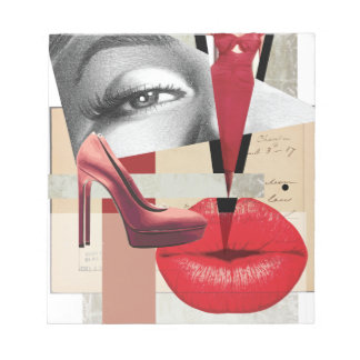 Wellcoda Merilyn Beauty Art Monroe Lip Notepads