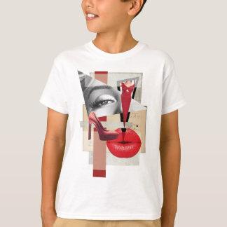Wellcoda Merilyn Beauty Art Monroe Lip T-Shirt