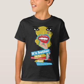 Wellcoda Merilyn Monroe Lip Dada Art T-Shirt