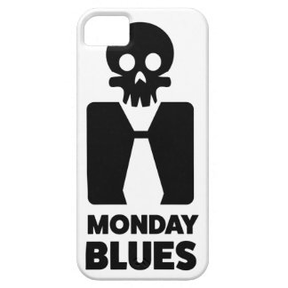 Wellcoda Monday Blues Skull Worst Day Case For The iPhone 5