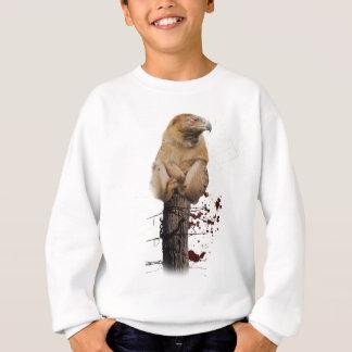 Wellcoda Monkey Eagle Creature Red Eye Sweatshirt
