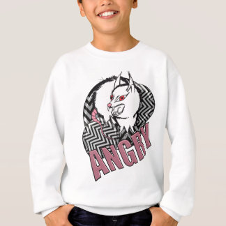 Wellcoda Monster Angry Animal Creature Sweatshirt