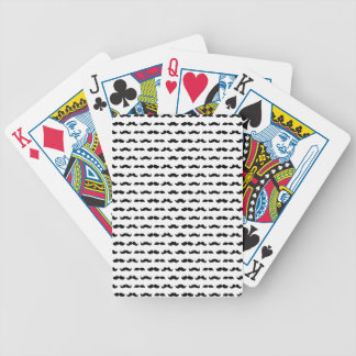 Wellcoda Moustache Epic Print Facial Hair Bicycle Playing Cards
