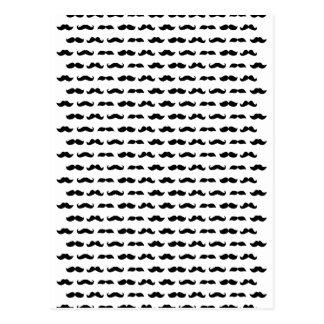 Wellcoda Moustache Epic Print Facial Hair Postcard