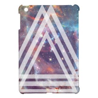 Wellcoda Multi Triangle Space Universe Fun iPad Mini Cover
