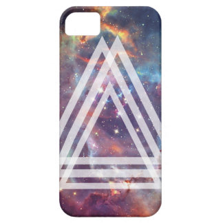 Wellcoda Multi Triangle Space Universe Fun iPhone 5 Cover