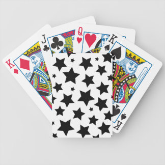 Wellcoda Multiple Star Effect Night Sky Bicycle Playing Cards