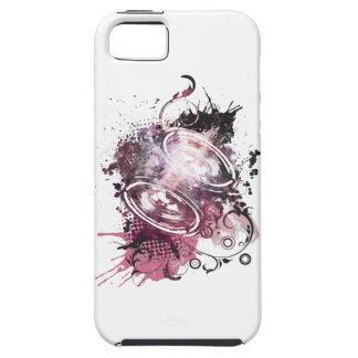 Wellcoda Music Headphone Love Feeling iPhone 5 Covers