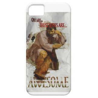 Wellcoda My Shoes Are Awesome Funny Joke Case For The iPhone 5