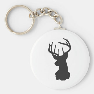 Wellcoda National Deer Hunt Stag Party Basic Round Button Key Ring