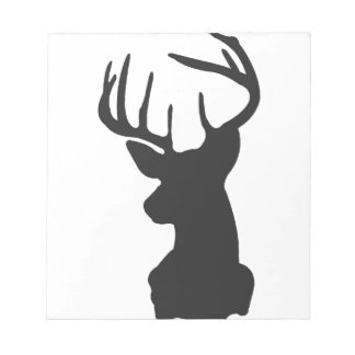Wellcoda National Deer Hunt Stag Party Notepad