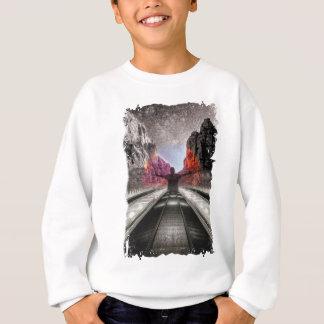 Wellcoda Nature City Fantasy Free Human Sweatshirt
