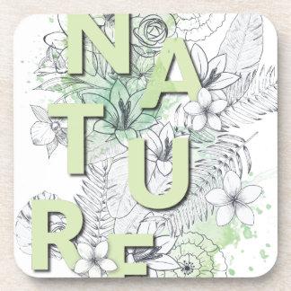 Wellcoda Nature Flower Plant Environment Coaster