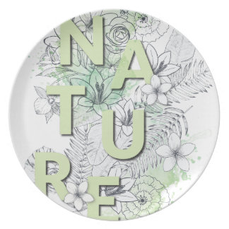Wellcoda Nature Flower Plant Environment Plate