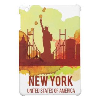 Wellcoda New York City NYC USA Liberty Cover For The iPad Mini