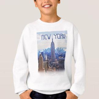 Wellcoda New York City NYC USA Urban Life Sweatshirt