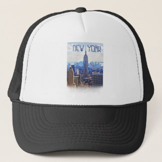 Wellcoda New York City NYC USA Urban Life Trucker Hat