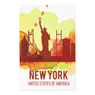 Wellcoda New York City NYC USA View Tour Stationery