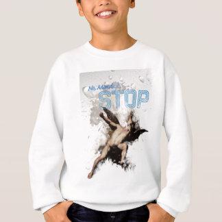 Wellcoda No Monday Stop Blues Worst Day Sweatshirt