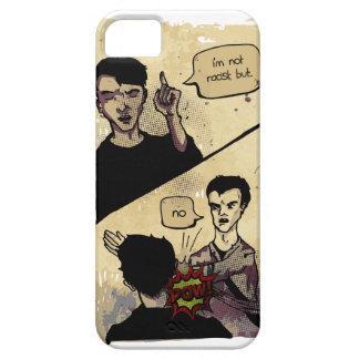 Wellcoda Not Racist Comic Fun Slap Funny iPhone 5 Cases